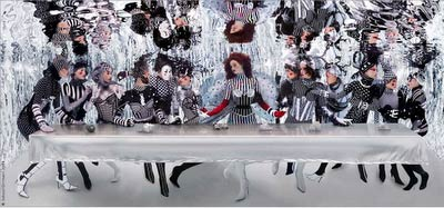 Howard Schatz, Underwater Last Supper, 2008