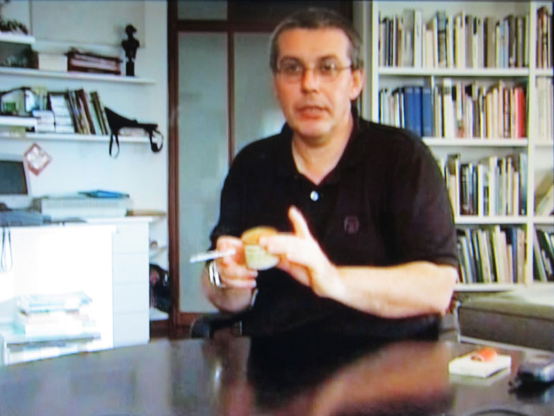 Hugues Peyret, Chacun sa merde, 2001