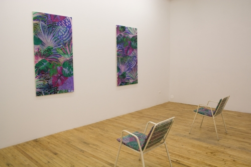 James Krone, Chair Painting I, Chair Painting II, 2010