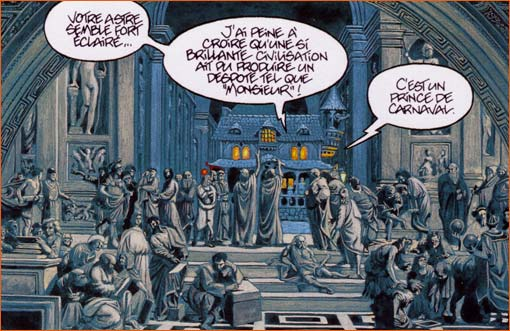 Jan-Luc Masbou, in De cape et de crocs (Acte VI : Luna incognita), 2004