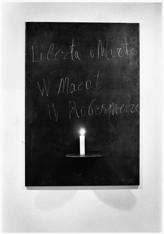 Jannis Kounellis, Untitled, 1969