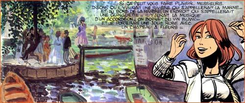 Jean-Claude Mézières, Evelyne Tranle, in Valerian, tome 20 - Lordre des pierres, 2007