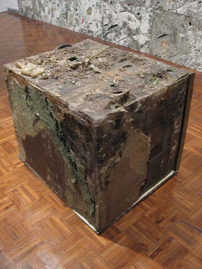 Jedediah Caesar, Untitled (Hollow Box), 2007