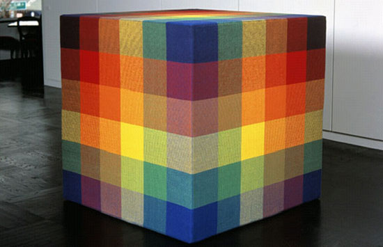 Jim Isermann, Cubeweave (0396), 1996