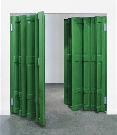 Jim Lambie, Green Door, 2004
