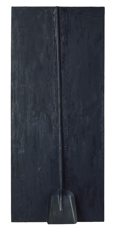 Jim Dine, A Black Shovel, Number 2, 1962
