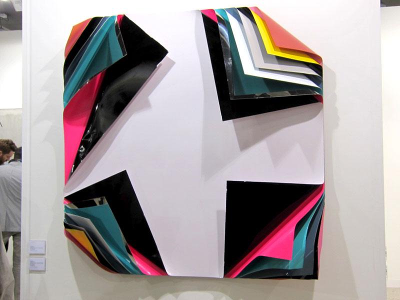 Jim Lambie, Metal Box, 2010
