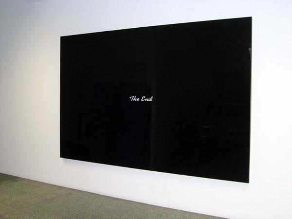 Joao Louro, The End #01, 2007