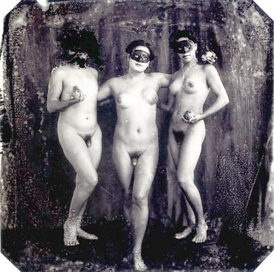 Joel-Peter Witkin, The Graces, New Mexico, 1988, gelatin silver print, 37x37cm