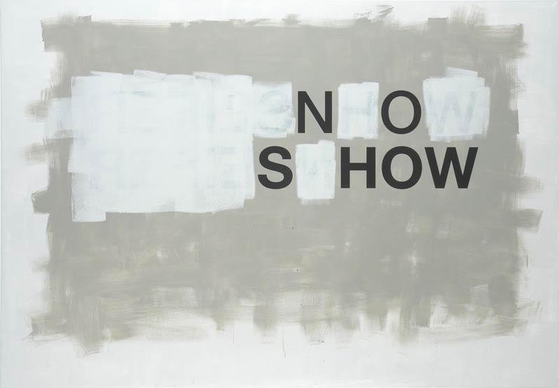 Johannes Wohnseifer, No show, 2006