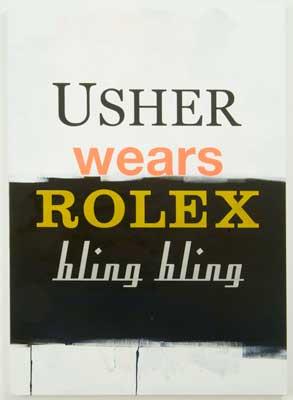Johannes Wohnseifer, Usher Wears Rolex Bling Bling, 2007