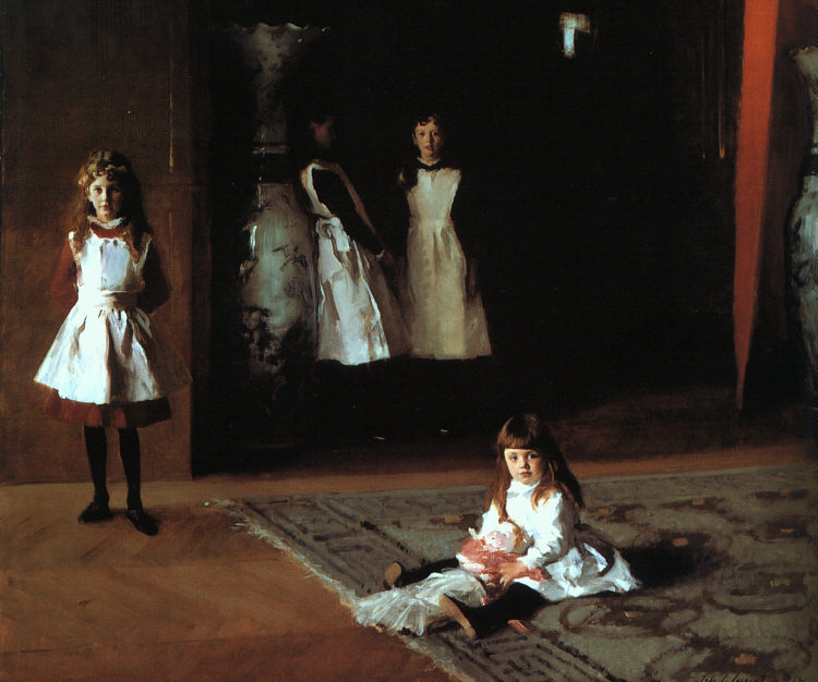 John Singer Sargent, Daughters of Edward Darley Boit, 1882