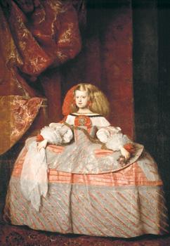 Juan Bautista Martinez del Mazo, La infanta Margarita dAustria, c. 1660