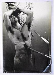 Kisihin Shinoyama, Yukio Mishima as St. Sebastian, 1966
