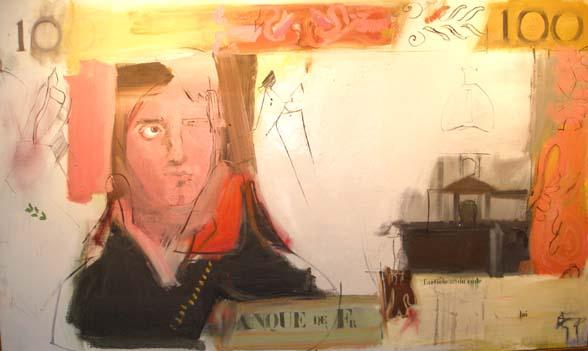 Larry Rivers, French Money (Nero), 1962