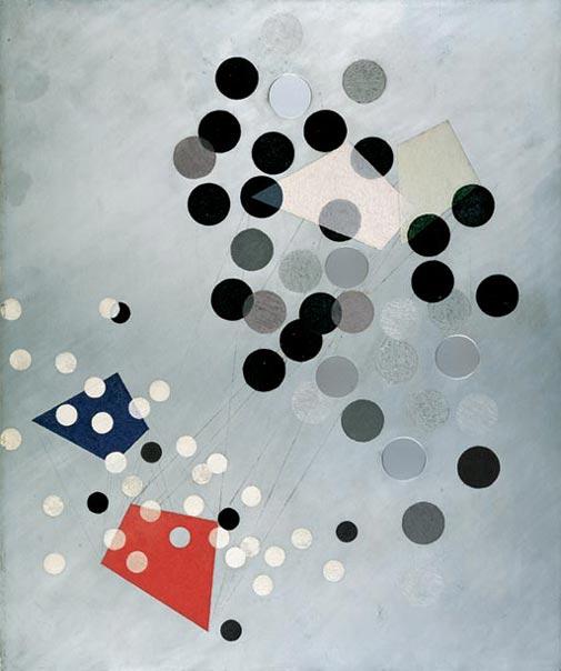 László Moholy-Nagy, Construction AL6, 1933-34