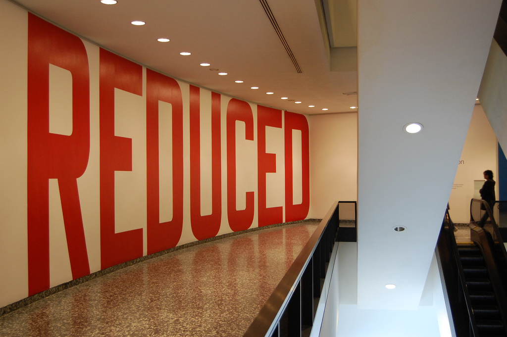 Lawrence Weiner, Reduced, Cat. No. 102, 1969