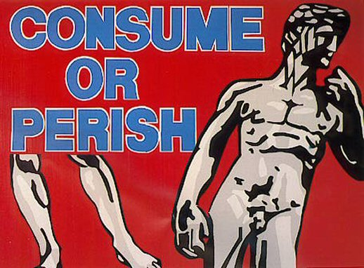 Les Levine, Consume of Perish, 1989