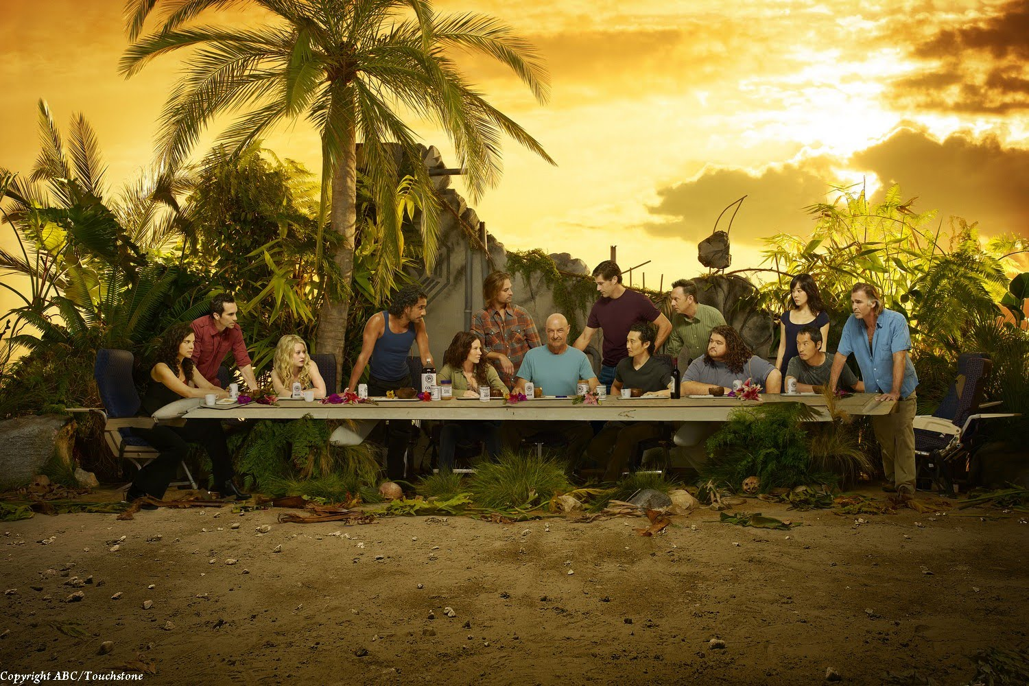 Lost, Last Supper, 2010