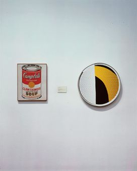 Louise Lawler, Soup and Mirror, 2001-2005, cibachrome print laminated on aluminum museum box, 50.2 x 40 cm