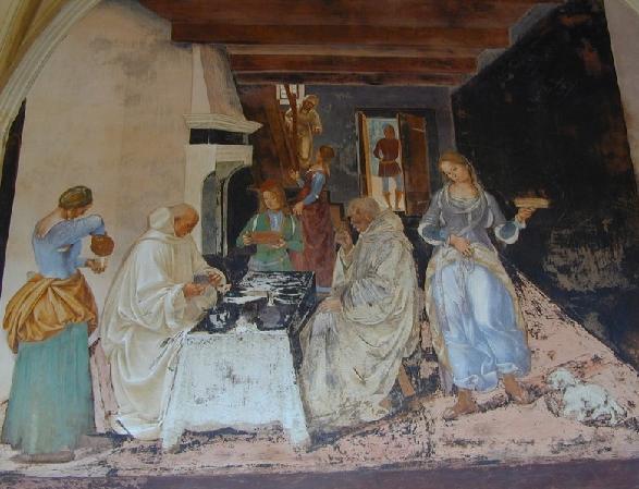 Luca Signorelli, Life of St. Benedict, 1497-1498