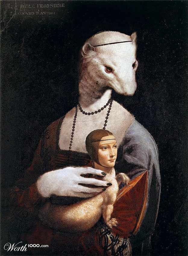 Luciano Petrosini, Ermine with an Lady, 2009