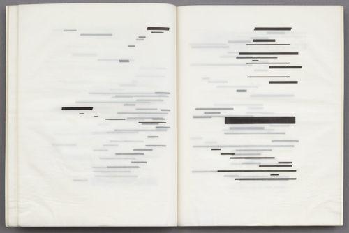 Marcel Broodthaers, Un coup de dés jamais n abolira le hasard, 1969
