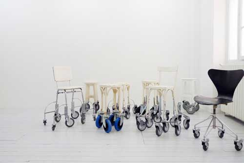 Marina Faust, Traveling Chairs, 2010