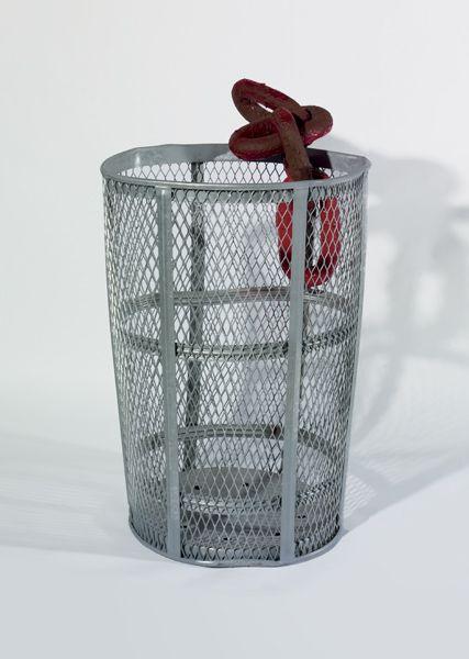 Mark Handforth, Chain Trashcan, 2006
