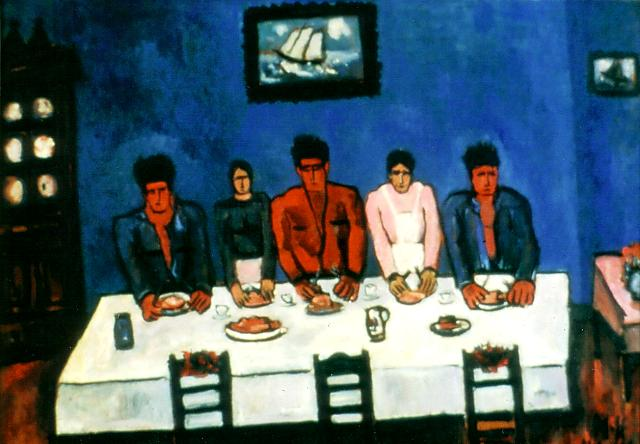 Marsden Hartley, Fishermans Last Supper, 1940-41