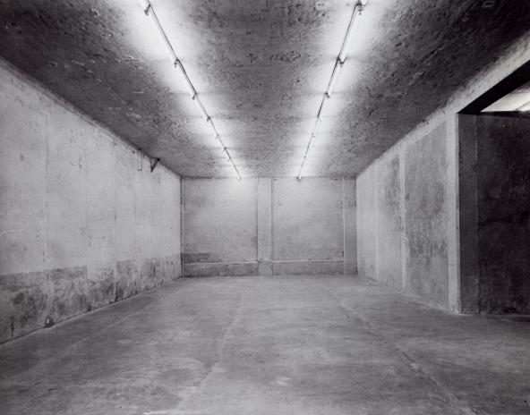 Michael Asher, galerie Teselli, Milan, 1973