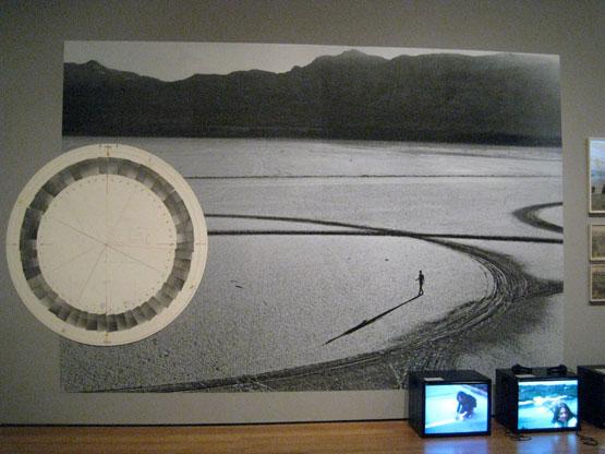Michael Heizer, Circular Surface Planar Displacement Drawing, 1970