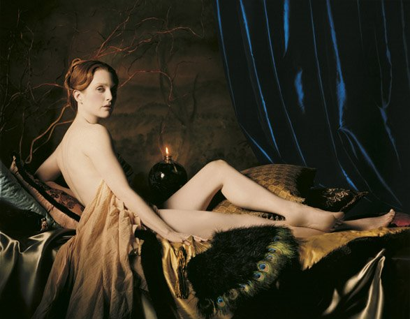 Michael Thompson, Julianne Moore as Ingress Grand Odalisque, 2000