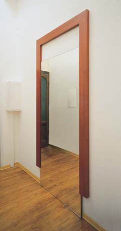 Michelangelo Pistoletto, La Porta dello Specchio (The Door of the Mirror), 1994
