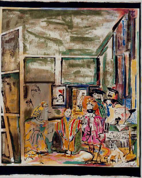 Micheline Lo, Les Ménines selon Hergé, 1985