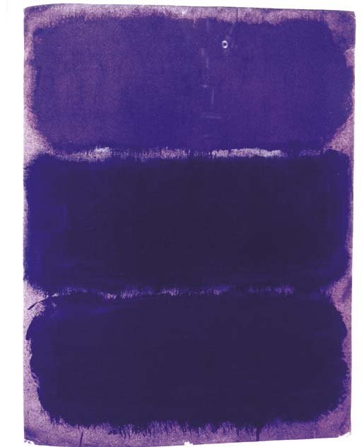 Mike Kelley, More Tragic! More Plangent!...More Purple! (Rothko Chapel) #5, 1996