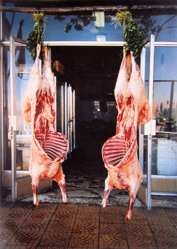 Mona Hatoum, Carcasses (Baalbeck), 1998