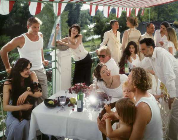 Neil Folberg, The Luncheon of the Boating Party (after Renoir)