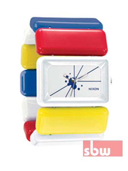 Nixon Watches, VEGA white red yellow blue