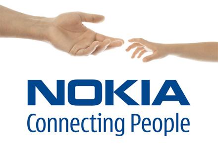 Nokia, logo, 1998