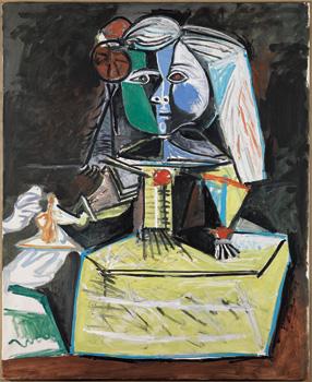 Pablo Picasso, Las Meninas (infanta Margarita María), 1957