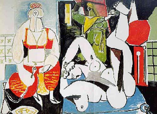 Pablo Picasso, Les femmes dAlger, version H, 1955