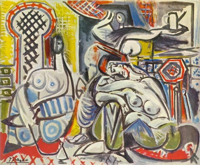 Pablo Picasso, Les femmes dAlger, version I, 1955