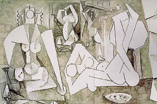Pablo Picasso, Les femmes dAlger, version K, 1955