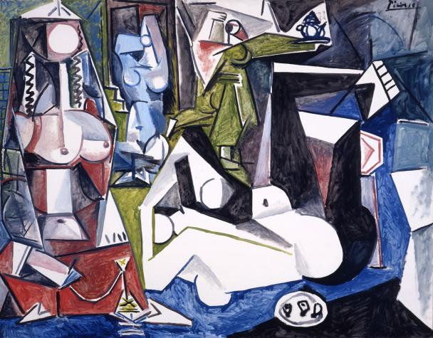Pablo Picasso, Les femmes d'Alger, version N, 1955