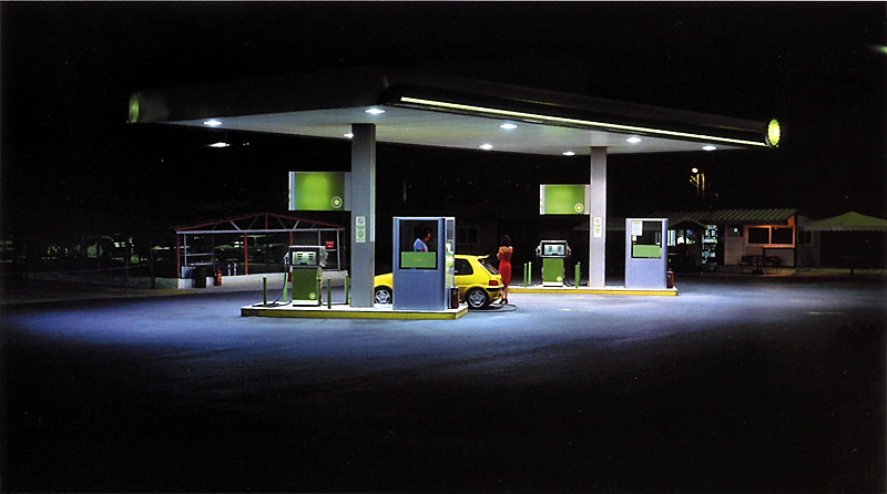 Panos Kokkinias, Gas Station, 2003