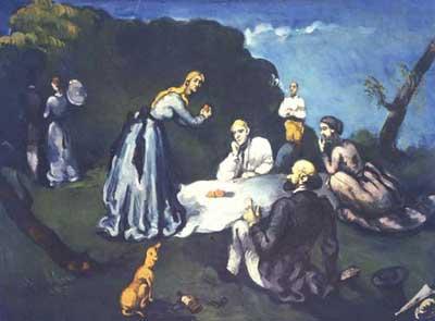 Paul Cézanne, Le déjeuner sur l