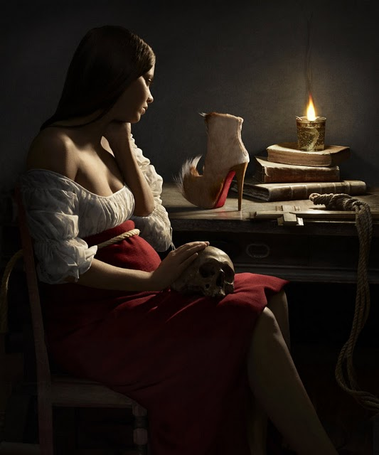 Peter Lippmann for Christian Louboutin, Puck boot, fall-winter 2011-2012 (de la Tour)