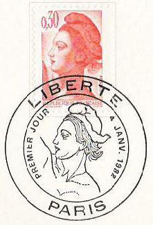 Pierre Gandon, Liberté, 1982