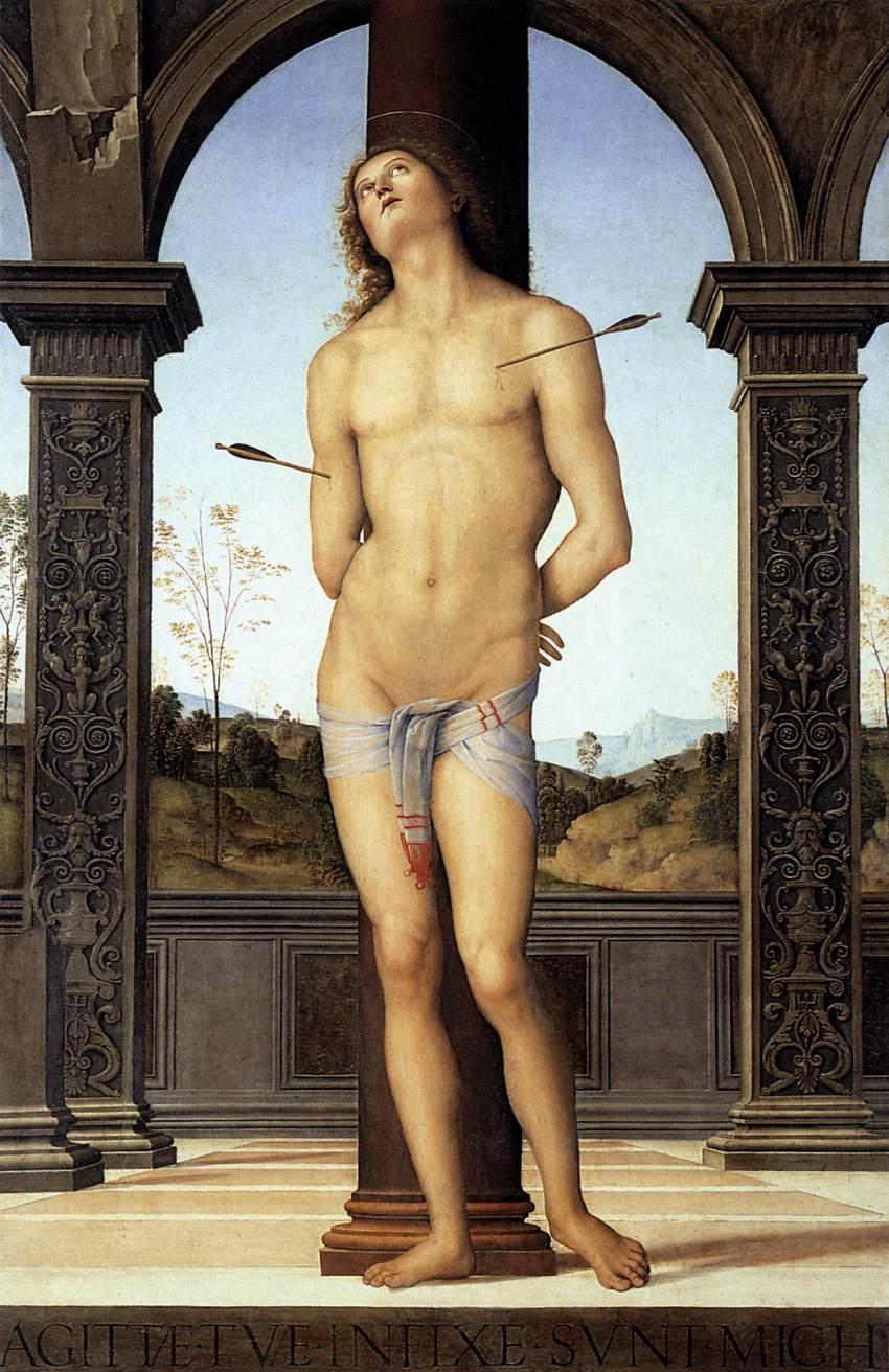 Pietro Perugino, St. Sebastian, 1490-1500